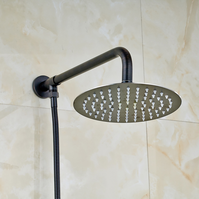 free shipping best design oil rubbed bronze wall mounted brass shower headchina mainland
