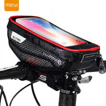 MEIYI Bike Phone Holder Universal Bike Mobile Support Stand Waterproof Bag For iPhone XS Max/XR/X GPS Bicycle Moto Handlebar Bag - DISCOUNT ITEM  32% OFF All Category
