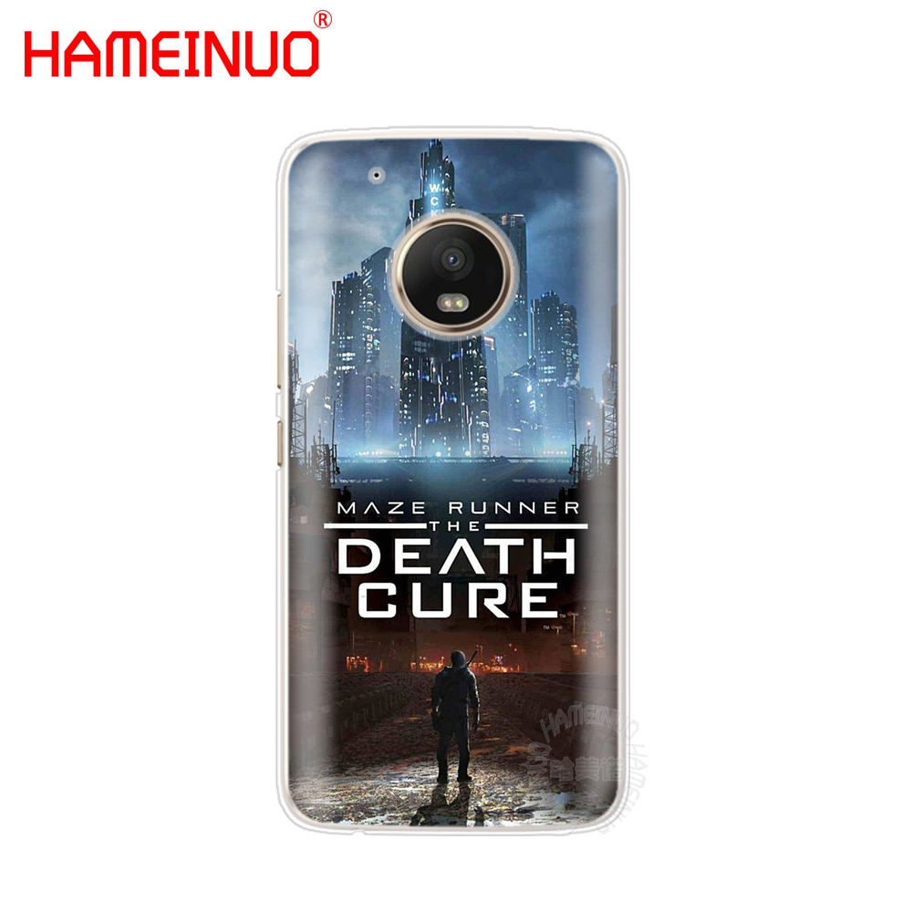 US $1 75 40% OFF|HAMEINUO Maze Runner The Death Cure case phone cover For  Motorola Moto X4 E4 C G6 G5 G5S G4 Z2 Z3 PLAY PLUS-in Half-wrapped Cases