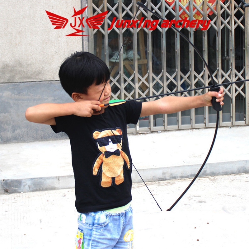 15-20lbs Archery Bow Child With 2 Arrows Finger Arm Guard Kids Teenager Children Shooting Practice Kids Recurve Bow Accessories