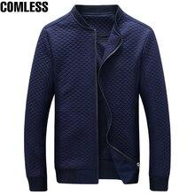 2017 neue Mode Marke Jacke Männer Kleidung Baseball Kragen Trend Schlank Hochwertige Casual herren Jacken Und Mäntel Oberbekleidung 5XL