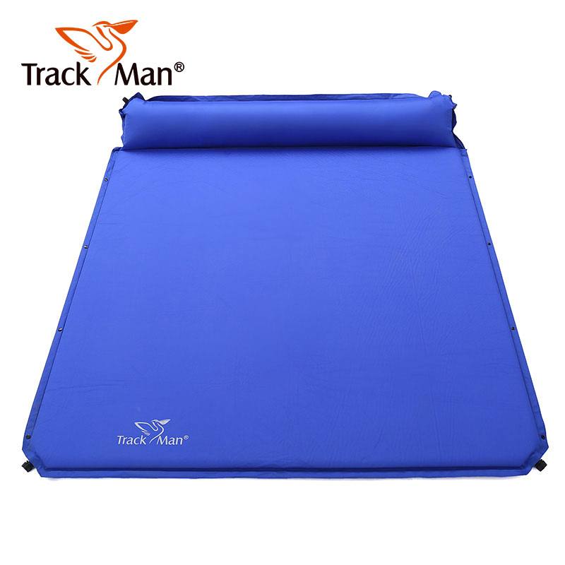 2 Person Camping Sleeping Pad Outdoor Mat Splicing Thick Lightweight Camp Automatic Inflatable Travel Moisture proof