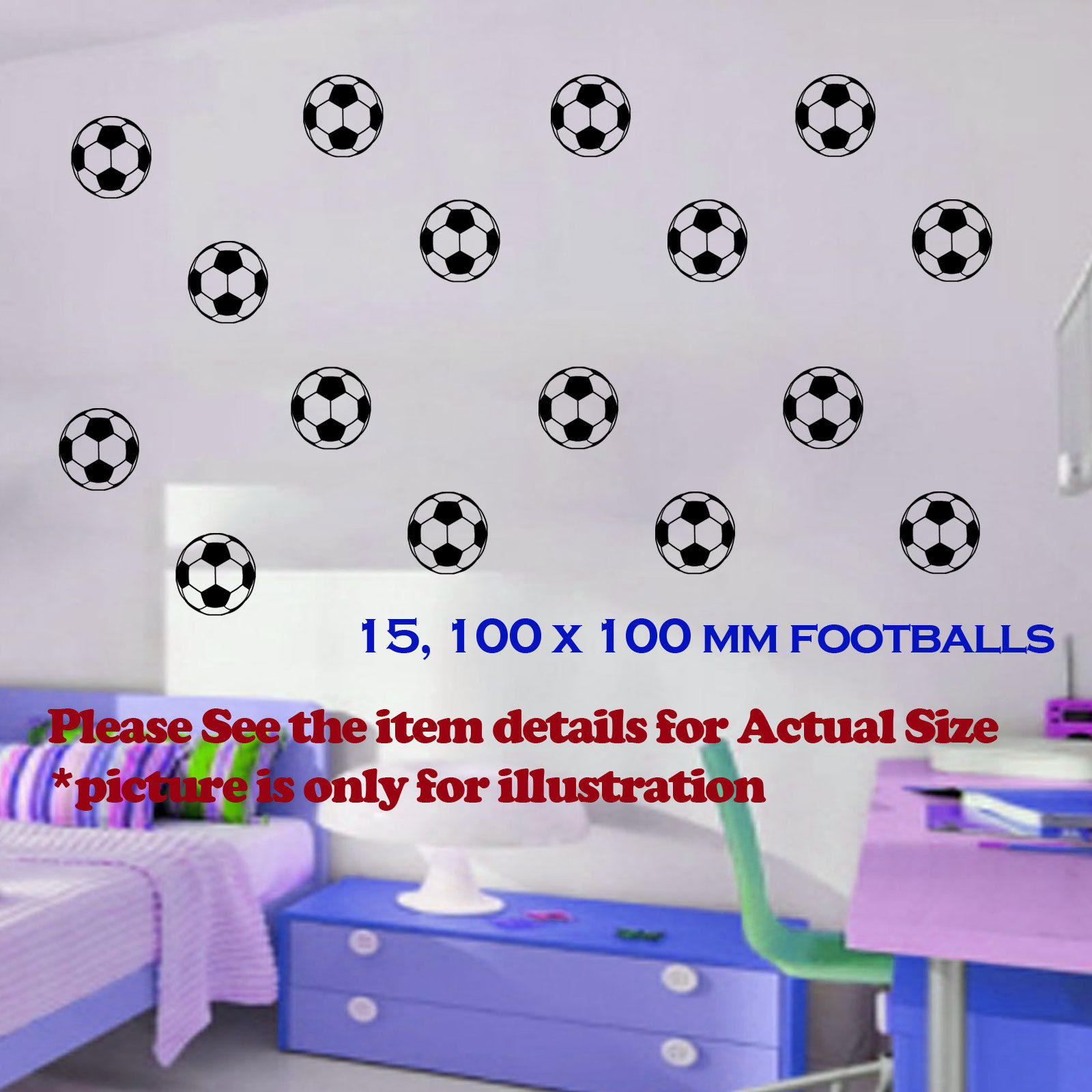 Liverpool fc wall stickers choice image home wall decoration ideas d0105 15 football soccer 100x100mm vinyl removable wall sticker d0105 15 football soccer 100x100mm vinyl removable amipublicfo Images