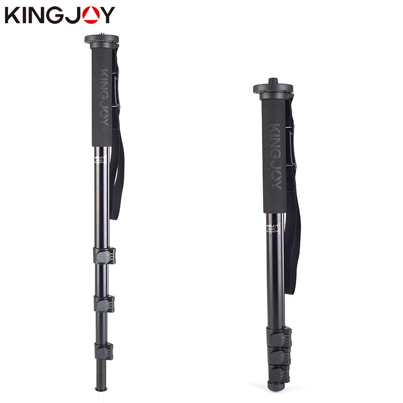 KINGJOY Officia MP208F Monopod Dslr For All Models Professional Camera Tripod Stand Video Para Movil Flexible Tripe Stativ