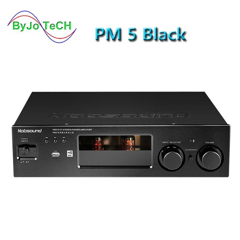 Nobsound PM5 Salut-fi Stéréo Amplificateur de Puissance NFC Sans Fil Bluetooth Amplificateur Support USB CD DVD 80 w + 80 w Puissance noir/Argent