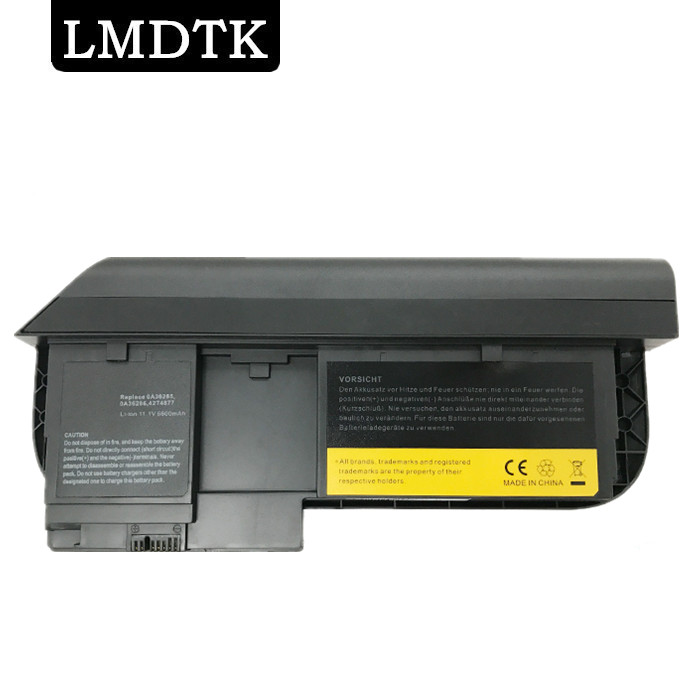 LMDTK New LAPTOP BATTERY FOR LENOVO ThinkPad X220 X220i Tablet X220T Series 0A36285 0A36286 42T4877l 42T4879 42T4881 6 CELLS new for ibm for lenovo for thinkpad x220t x220 x230t tablet lcd cable fru p n 04w1775 free shipping