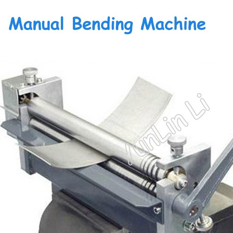 12kg Manual Steel Plate Bending Machine Desktop Aluminum/Sheet Rolling Machine Metal Rolling Processing Machine HR 320