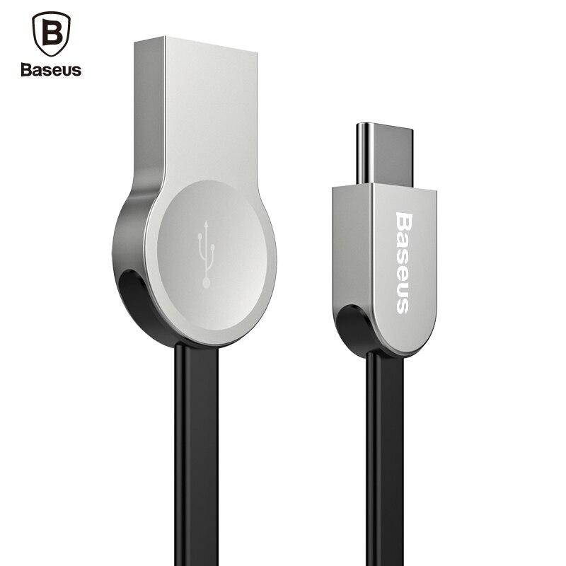 Baseus Zinc-alloy USB Type C Cable Fast Charging Data Sync Charger USB 3.1 Type-c Cable For Xiaomi mi5 ZUK Z2 Z1 LG G5 HTC 10