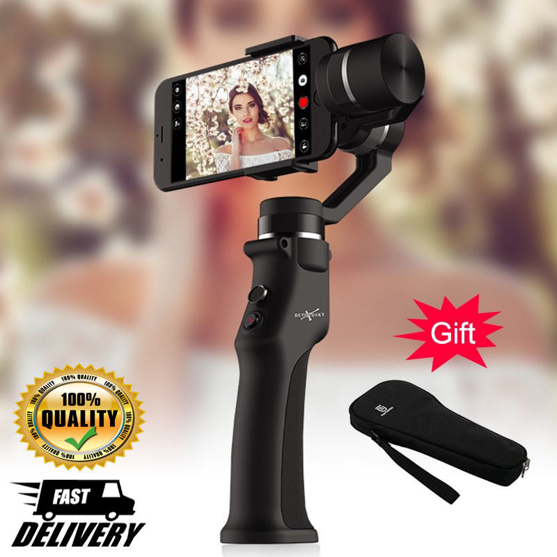 New EYEMIND 3 Axis Gimbal Stabilizer for Smartphone GO Pro Camera Handheld