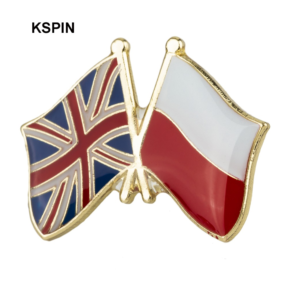 Home & Garden Australia Ireland Friendship Flag Label Pin Metal Badge Badges Icon Bag Decoration Buttons Brooch For Clothes 1pc Apparel Sewing & Fabric
