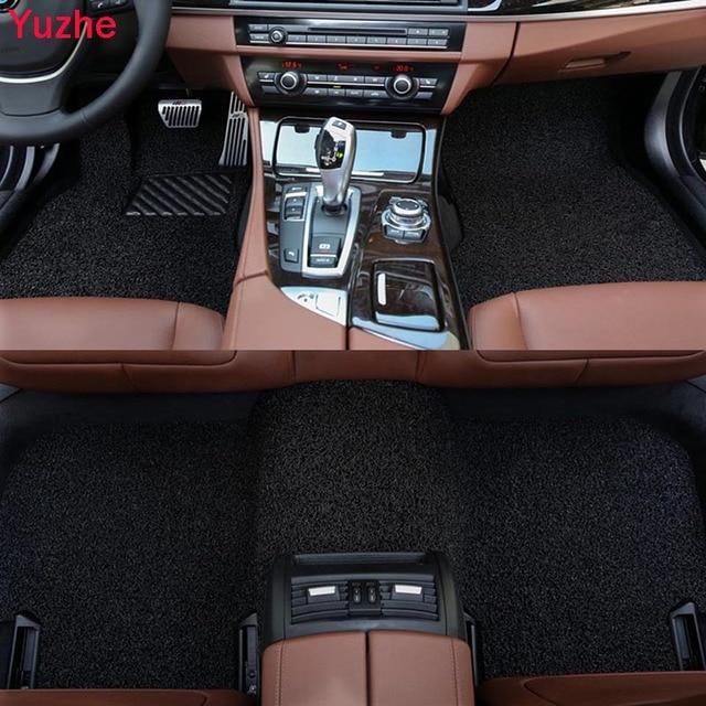 Yuzhe Custom Auto car floor Foot mat for Suzuki Jimny Grand Vitara Kizashi Swift SX4 Wagon R Palette car accessories car styling
