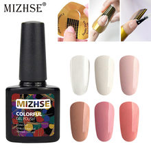 MIZHSE 10ml Uitbreiding Gelpolish Clear Roze Naakt Nail Tips UV Builder Gel Losweken Lak Nail Vernissen Manicure removal(China)