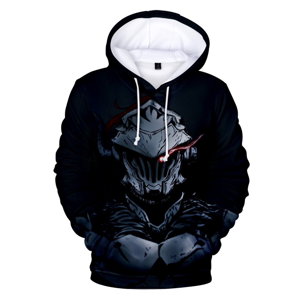 Fashion Hoodies Goblin Slayer Comic Fashion 2019 Hot 3D Hoodies Men Women Fall Winter Casual Goblin Slayer Comic Hoodies