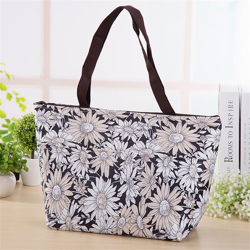New large portable carry thicker insulated thermal adults lunch box kids picnic bag men women food handbags cooler milk totel