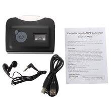 Conversor leitor de Cassetes para MP3 CD Fita Fitas Cassete Comer