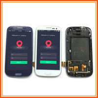 LCD For Samsung Galaxy S III S3 i9300 GT I9300 S3 Neo i9300 GT i9300i LCD Display Monitor + Touch Screen Assembly + Frame