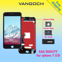 10pcs AAA Quality No Dead Pixel Display For IPhone 7 LCD Replacement With 3D Touch Digitizer