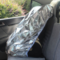 Baby Infant Car Seat Sun Shade/Toddler Car Seat Protector Cover Silver Child Car Seat Cover