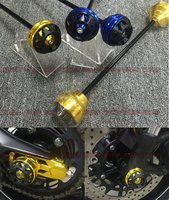 Fits Yamaha MT 09 13 16 CNC Modified Front And Rear Wheels Drop Resistance Rubber Ball