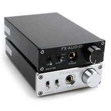 חדש FX AUDIO DAC X6 מיני HiFi 2.0 דיגיטלי אודיו מפענח DAC קלט USB/קואקסיאלי/אופטי פלט RCA/מגבר 24Bit/96KHz DC12V
