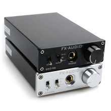 NEW FX-AUDIO DAC-X6 MINI HiFi 2.0 Digital Audio Decoder DAC Input USB/Coaxial/Optical Output RCA/ Amplifier 24Bit/96KHz DC12V(China)