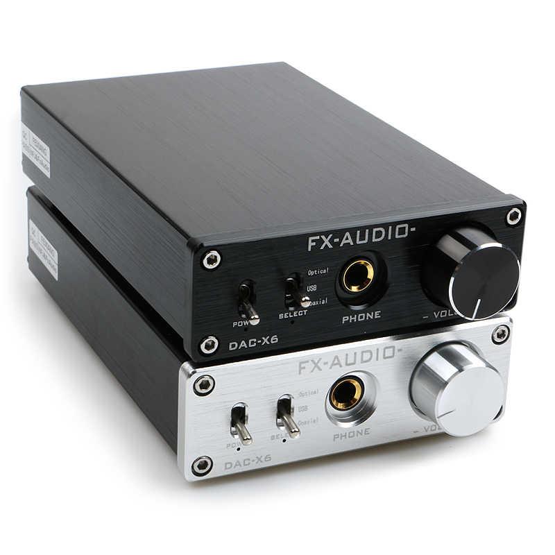 NEW FX AUDIO DAC X6 MINI HiFi 2 0 Digital Audio Decoder DAC