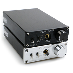 Nuovo FX-AUDIO DAC-X6 Mini Hifi 2.0 Digital Audio Decoder Dac Ingresso Usb/Coassiale/Ottica di Uscita Rca/Amplificatore 24Bit/96 Khz DC12V