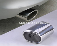 1pcs High quality Stainless Steel Car Exhaust Muffler Tip Pipes Covers for BMW E90 E91 E92 E93 318i 318d Accessories