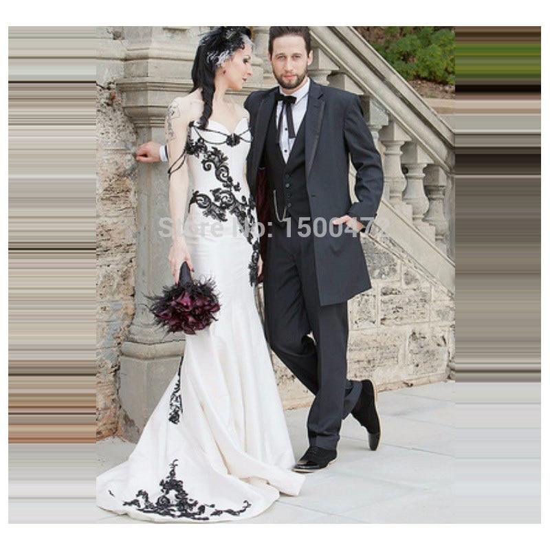 Populaire Abito nero e bianco y nero - Fashion touch italy KX08