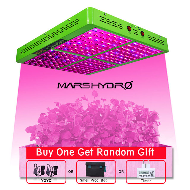 Mars hydro reflector full spectrum 1000W Led grow lights indoor garden greenhouse hydroponics professional planting lights