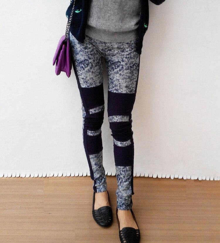 schöner Stil klassischer Stil Bestellung Lab1 cecil brand 100% patchwork cotton legging trousers ...