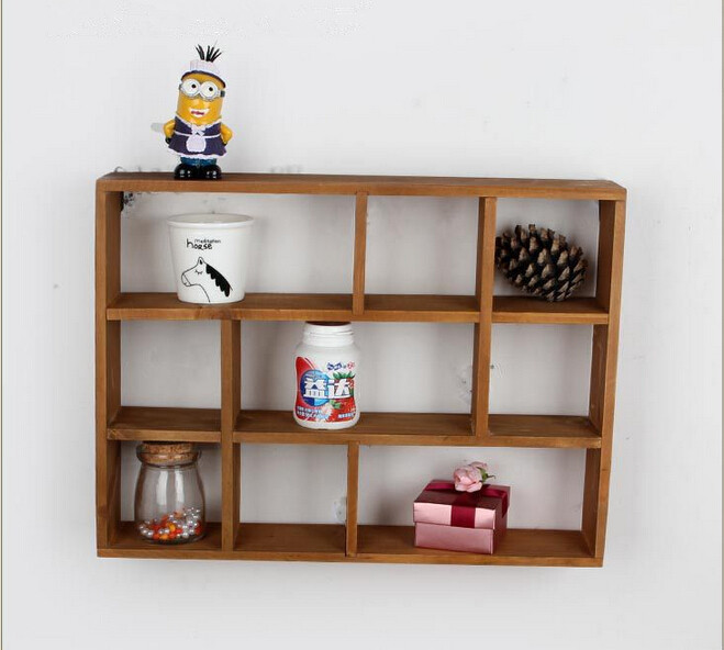 Wall Mounted Wood Shelves ~ Wooden wall shelf for bathroom design ideas