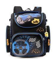 Delune School Bag Children Orthopedic School Backpacks High density Nylon Material Spine Pressureless Design Backpack For Kids