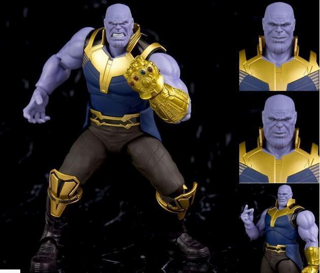 Фигурка Танос Мстители: война бесконечности 16 см ПВХ подвижная