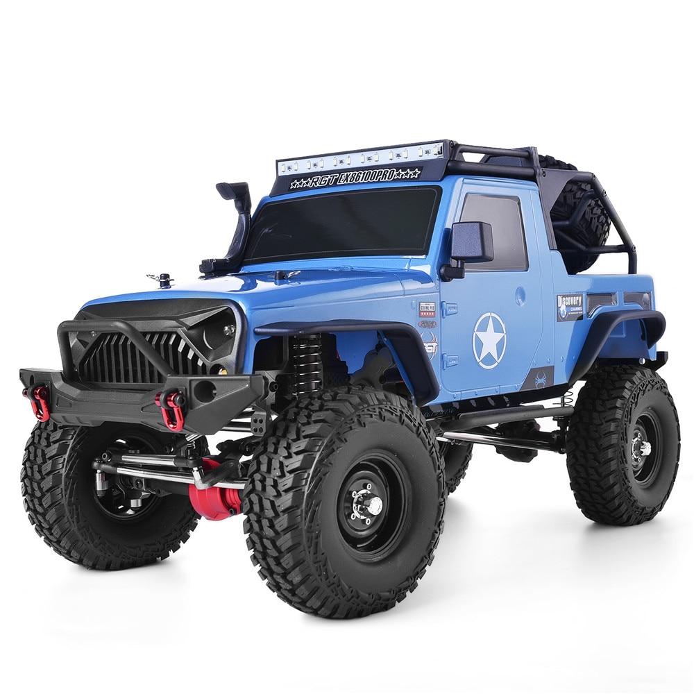 RGT RC cadre de chenille 1:10 échelle 4wd roche chenille hors route camion RC Rock Cruiser EX86100PRO 4x4 étanche RC voiture jouets pour enfants