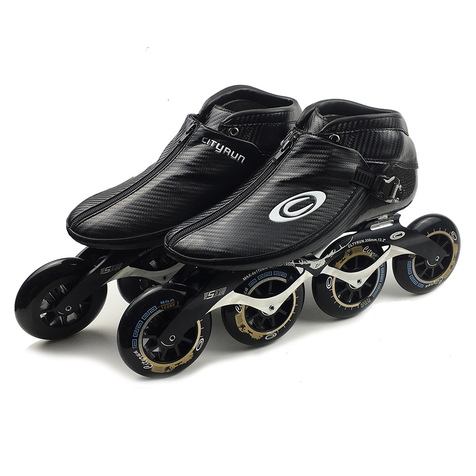 Japy Cityrun Speed Inline Skates Carbon Fiber Professional Competition Skates 4 Wheels Racing Skating Patines Similar Powerslide japy cityrun speed inline skates carbon fiber professional competition skates 4 wheels racing skating patines similar powerslide