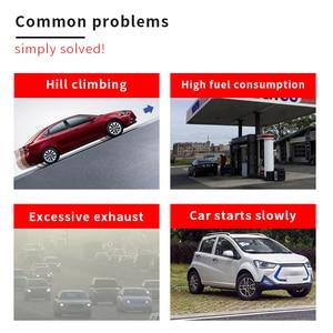 Image 5 - Turbocompresseur pour économie de carburant, accélérateur pour économie dhuile, améliore le rapport Air carburant, calibre 35 40MM 80 85MM, 2 pièces/paquet