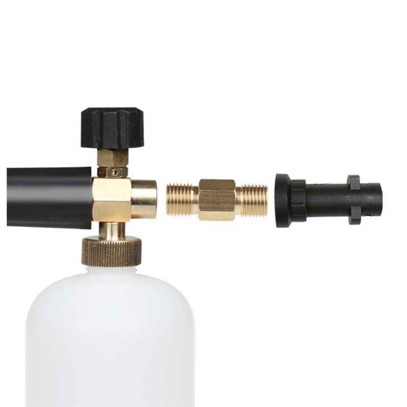 2019 myjnia samochodowa Adapter dysza pianowa spieniacz mydła wysokociśnieniowy spieniacz do Karcher serii K pistolet do mycia generator pianki akcesoria samochodowe