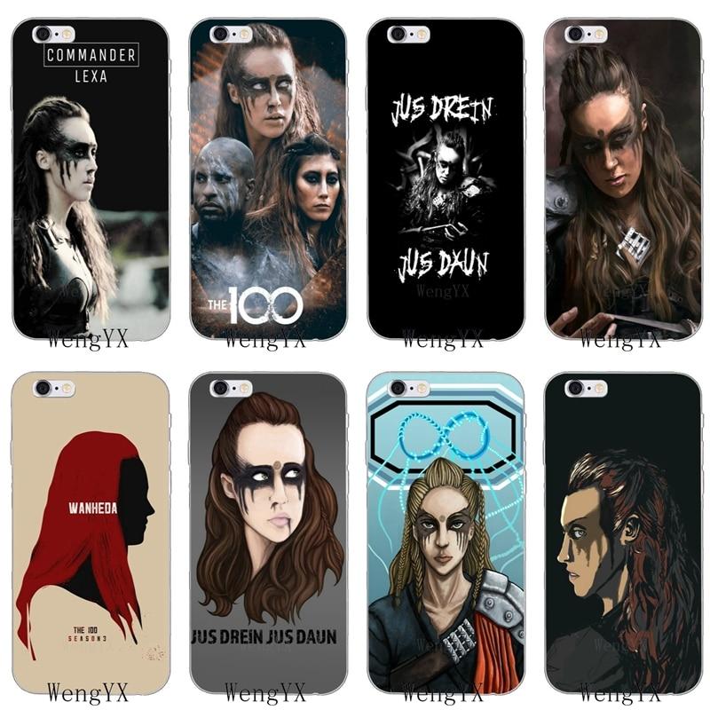 The 100 TV series Commander Lexa tatto iphone case