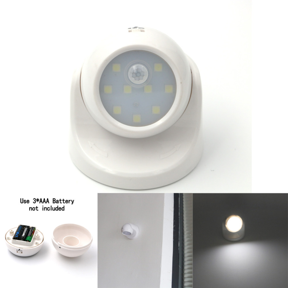9 led motion sensor light wireless infrared home indoor outdoor pir auto sensor motion detector led - Led Motion Sensor Light
