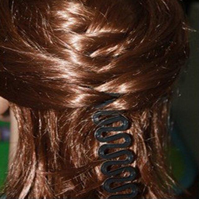 3pcs Fashionable Magic Plastic Hair Curler Rollers Hair Braiding