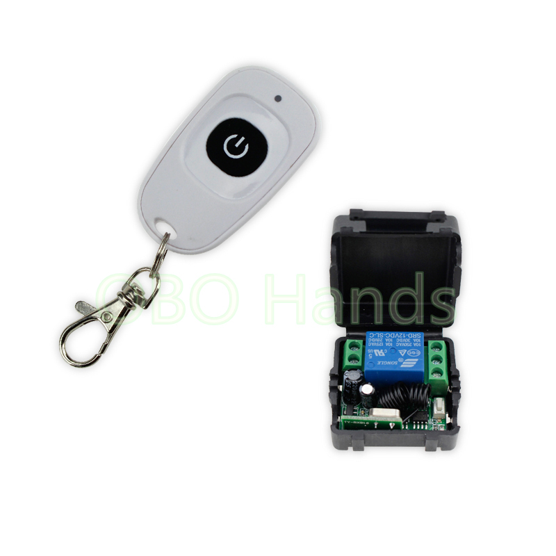 Одной двери 315/433 мГц 12 В 1ch беспроводной пульт дистанционного управления модуль + приемник + основа для контроля доступа system-sl312 ...