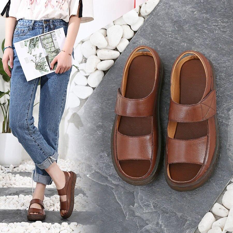 Nice Quality So Soft Comfortable Genuine Leather Women'S Shoes Original Handmade Anti-skid...