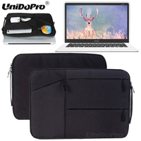 Unidopro Classic Sleeve Briefcase Notebook Aktentasche Handbag Case For CHUWI Lapbook 14 1 Laptop Mallette Carrying