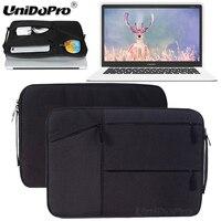 Unidopro Classic Sleeve Briefcase Notebook Aktentasche Handbag Case For CHUWI Lapbook 14 1 Laptop Mallette Carrying