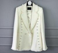 elegant women basic coat tweed female jacket,white suit amazing wool coat plus size Women's winter jacket,5xl 6xl abrigos mujer