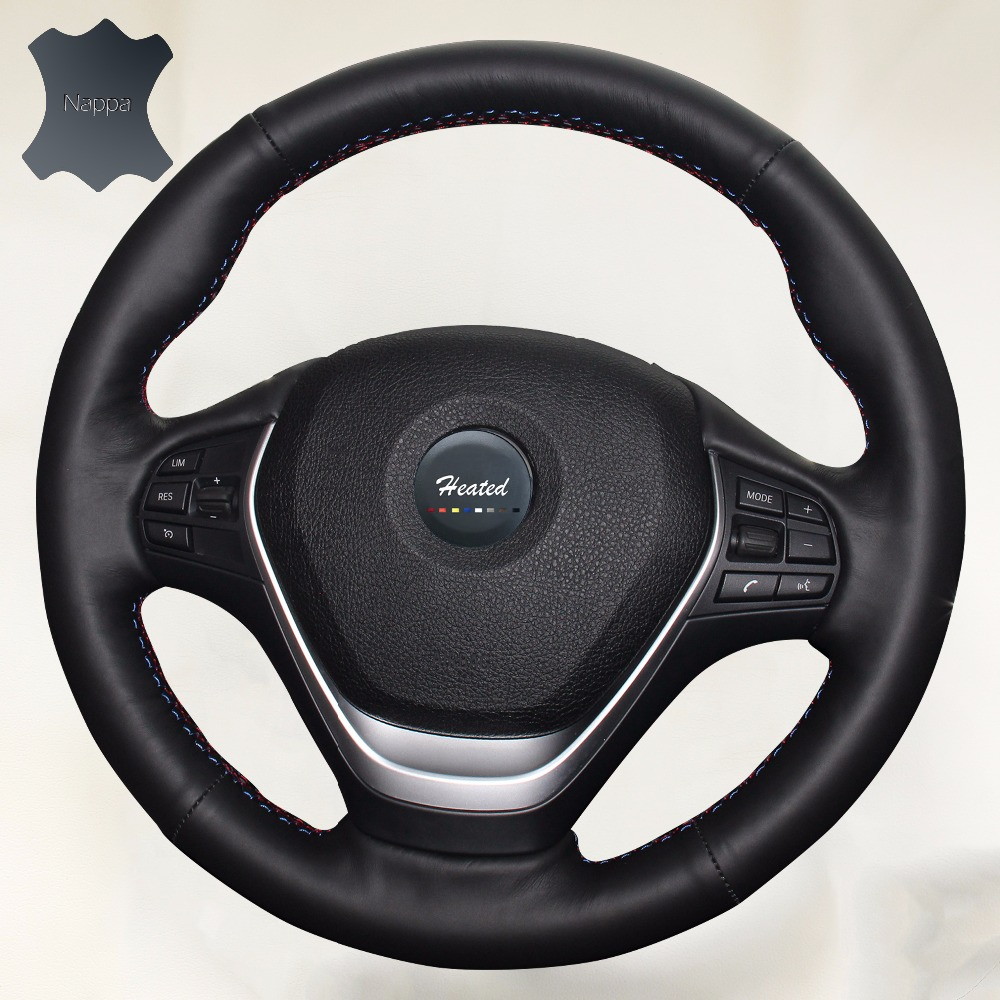 Genuine Leather Car Covers Car Steering Wheel Cover For