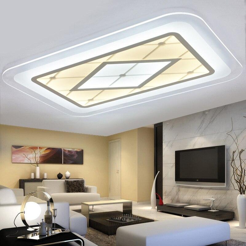 Lampe Techo Fabulous Simple Geometric Led Ceiling Lamp Kitchen