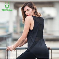 Yoga Gym Top Vest Women Yoga Shirt Running Sports Vest High Support Workout gym Running Fitness Breathable Tank Top