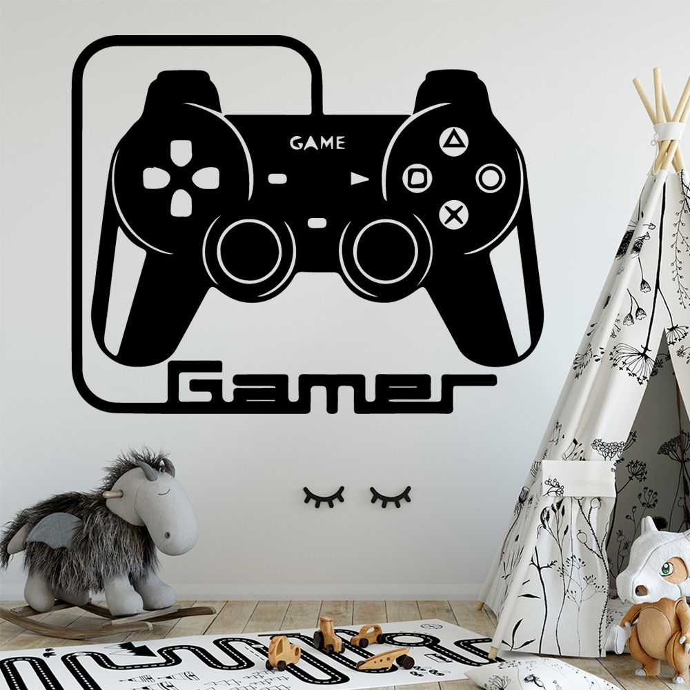 Eat Sleep XBOX Sticker Repeat Game Wall Gamer PS4 PC Art Boys Decal Gaming Funny